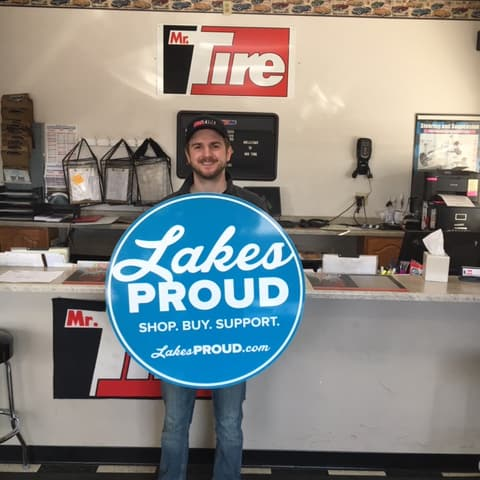 Lakes Proud Business Mr. Tire