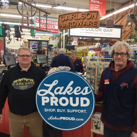 Lakes Proud Business Carlson Hardware