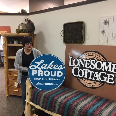 Lakes Proud Business Lonesome Cottage Furniture Company
