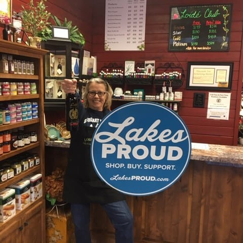Lakes Proud Business Loide Oils and Vinegars