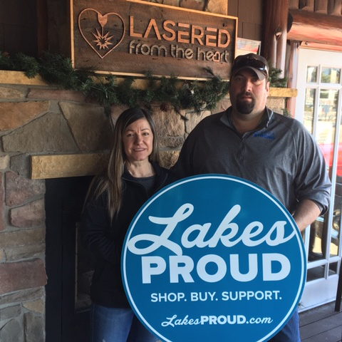 Lakes Proud Business Lasered From the Heart