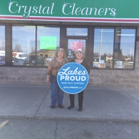 Lakes Proud Business Crystal Cleaners