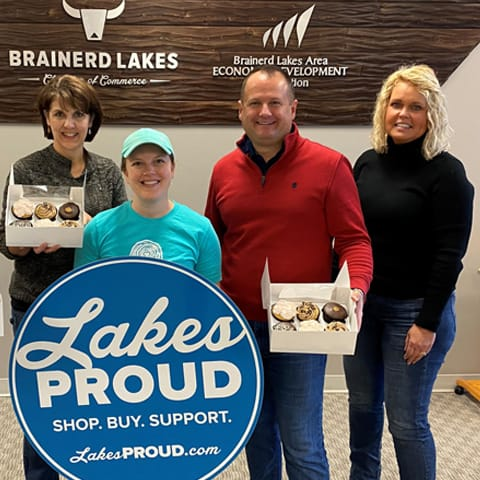 Lakes Proud BUsiness Knotty Pine Bakery
