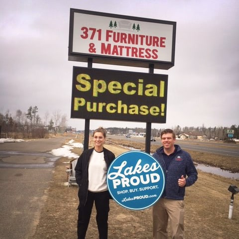 Lakes Proud Business 371 Furniture and Mattress