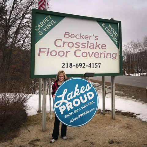 Lakes Proud Business Becker's Crosslake Floor Covering