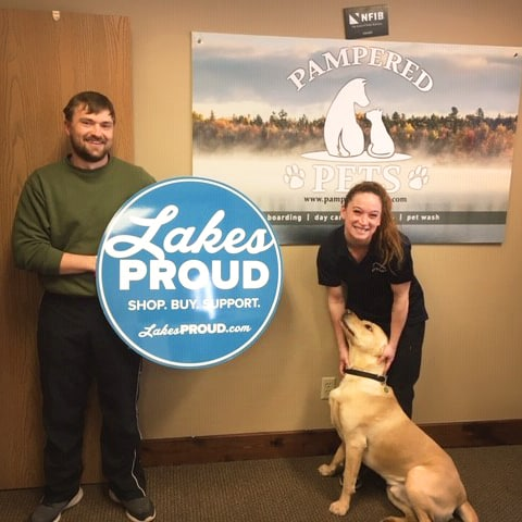 Lakes Proud Business Pampered Pets