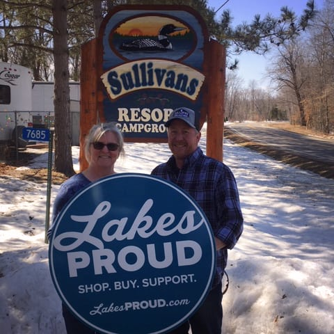 Lakes Proud Business Sullivans Resort and Campground