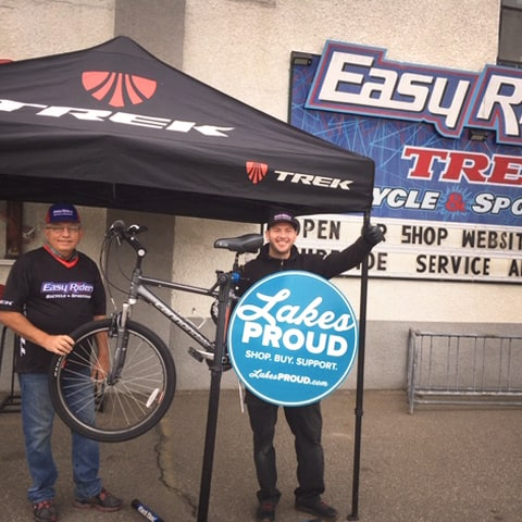 Lakes Proud Business Easy Riders