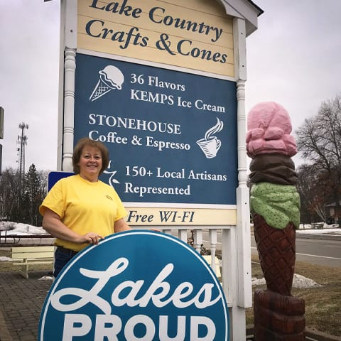 Lakes Proud Business Lake Country Crafts and Cones