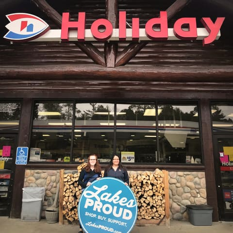 Lakes Proud Business Holiday Gas Station