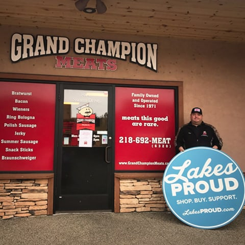 Lakes Proud Business Grand Champion Meats