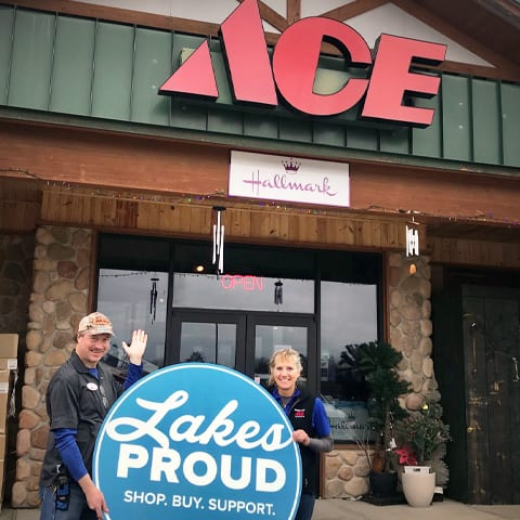 Lakes Proud Business Ace Hardware