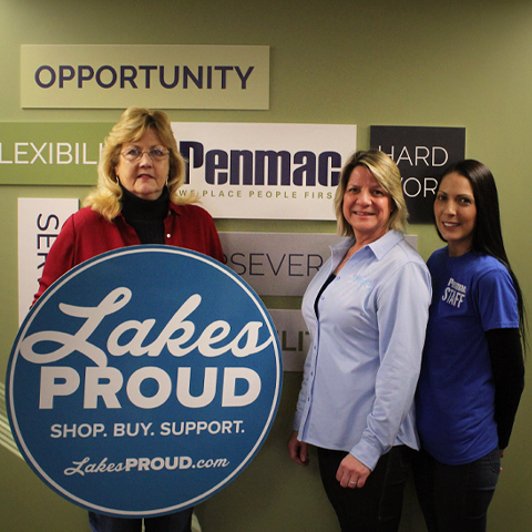 Lakes Proud Business Penmac Staffing Solutions
