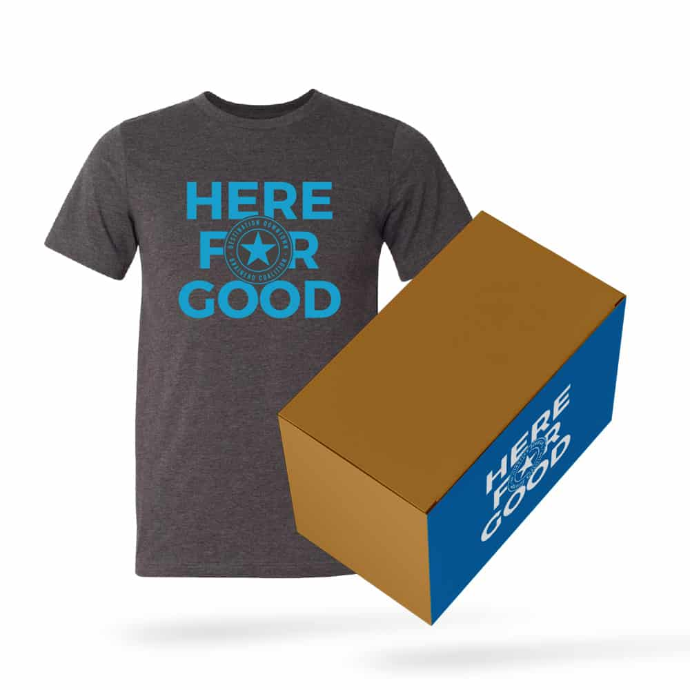 Here for Good Shirt and Box Bundle