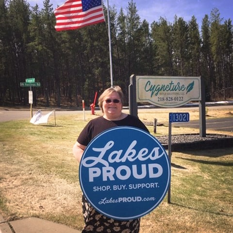 Lakes Proud Business Cygneture Title
