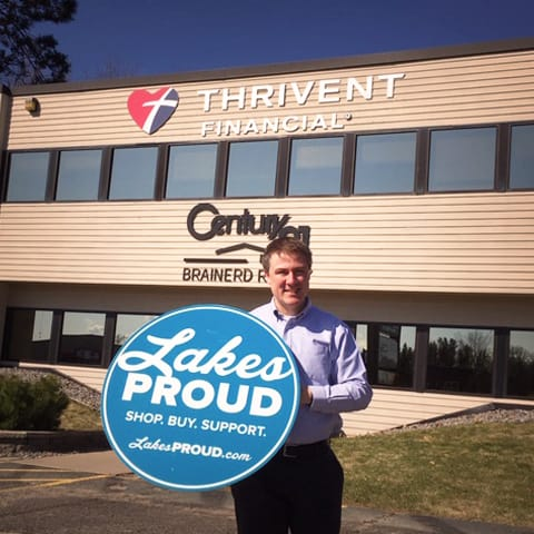 Lakes Proud Business Thrivent Financial Brent Fassett