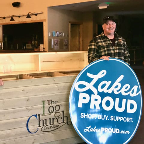 Lakes Proud Business The Log Church