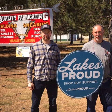 Lakes Proud Business Quality Fabricating