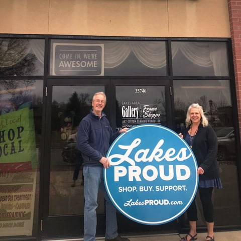 Lakes Proud Business Lakes Area Gallery & Frame Shoppe