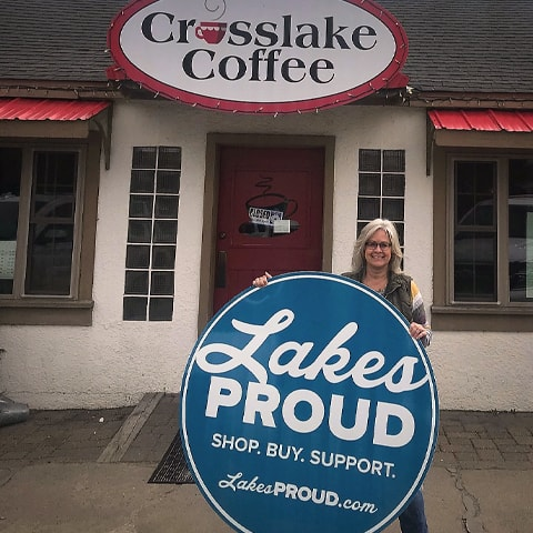 Lakes Proud Business Crosslake Coffee