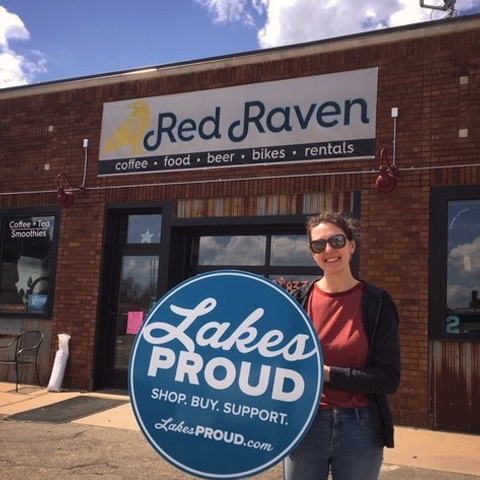 Lakes Proud Business Red Raven Bike and Coffee Shop