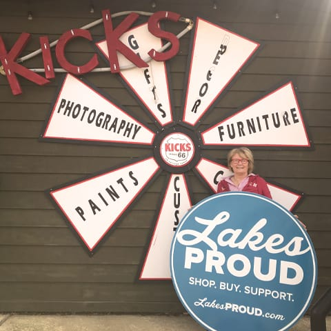 Lakes Proud Business Kicks on Route 66