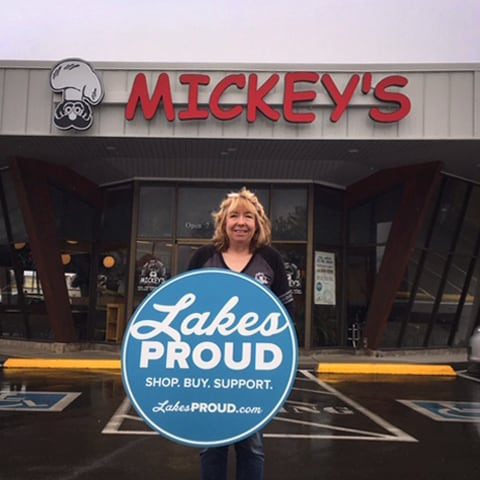 Lakes Proud Business Mickey's