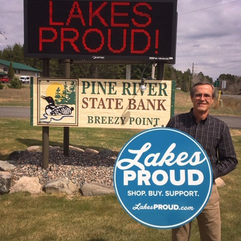 Lakes Proud Business Pine River State Bank