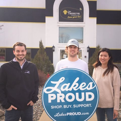 Lakes Proud Business The Teehive