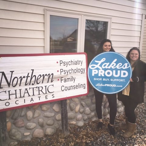 Lakes Proud Business Northern Psychiatric Associates