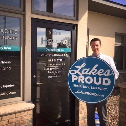 Lakes Proud Business Hedlund Chiropractic