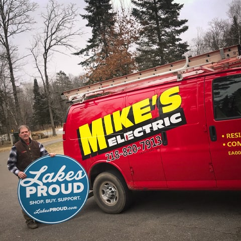 Lakes Proud Business Mike's Electric