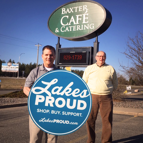 Lakes Proud Business Baxter Cafe and Catering