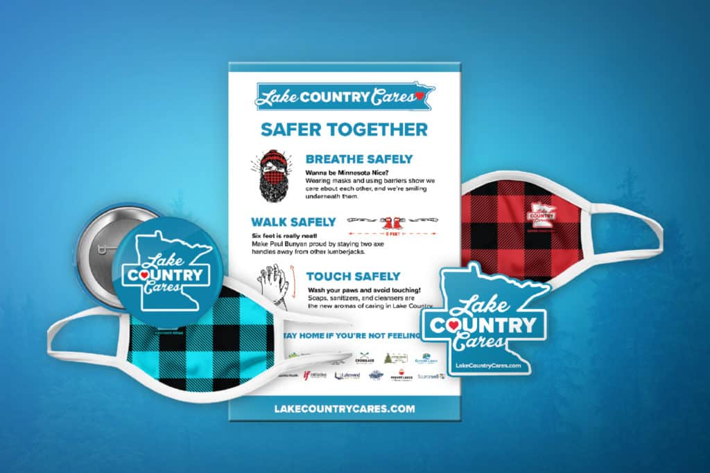 Lake Country Cares Promotional Items