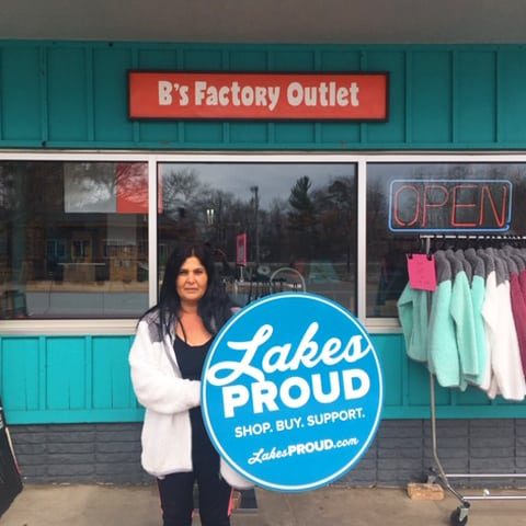 Lakes Proud Business B's Factory Outlet