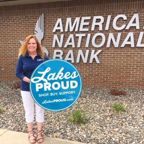 Lakes Proud Business American National Bank