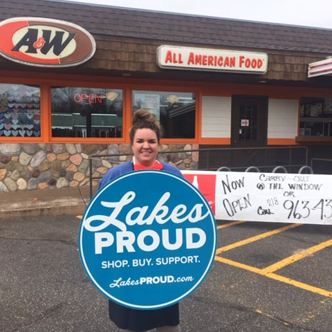 Lakes Proud Business A&W Root Beer