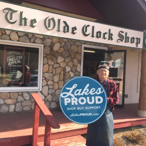 Lakes Proud Business The Olde Clock Shop