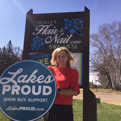 Lakes Proud Business Holly's Hair and Nail Care