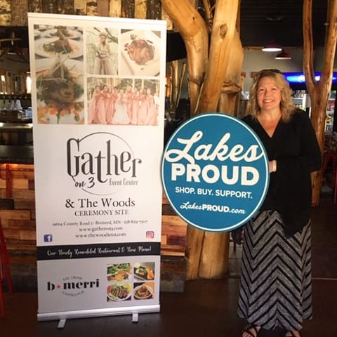 Lakes Proud Business The Woods and Gather On 3 Event Center