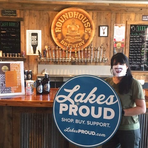 Lakes Proud Business Roundhouse Brewery