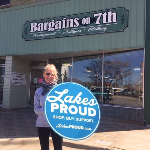 Lakes Proud Business Bargains on 7th