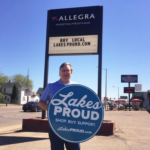 Lakes Proud Business Allegra