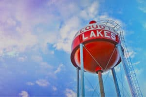 Pequot Lakes Water Tower