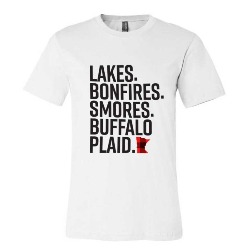Lakes. Bonfires. Smores. Tee
