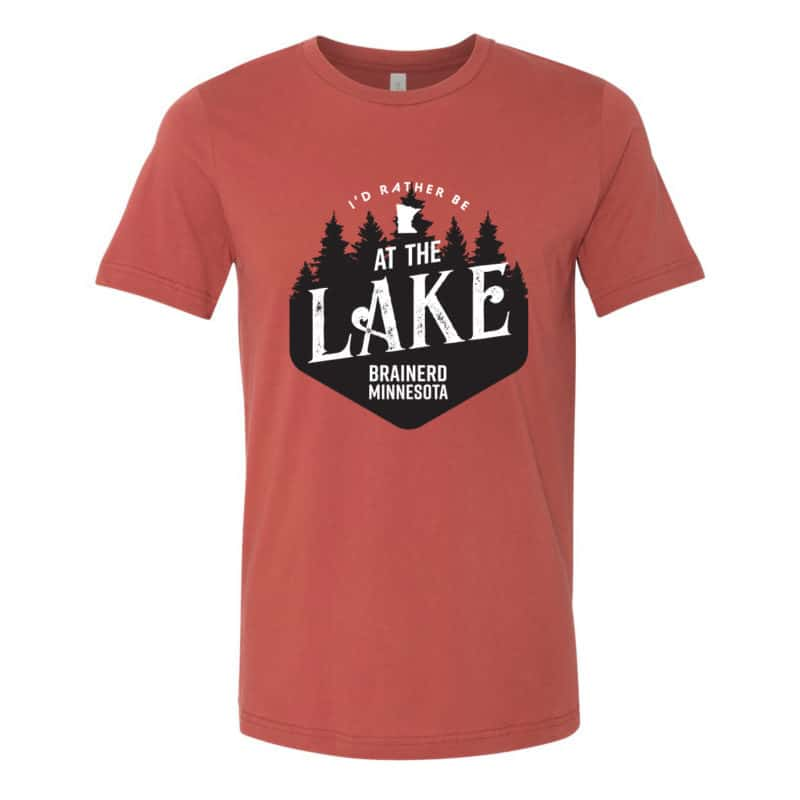 Closet Staple: I'd Rather Be At the Lake Tee