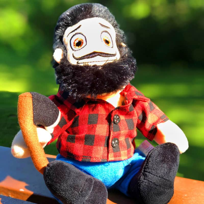 Large Paul Bunyan Plush