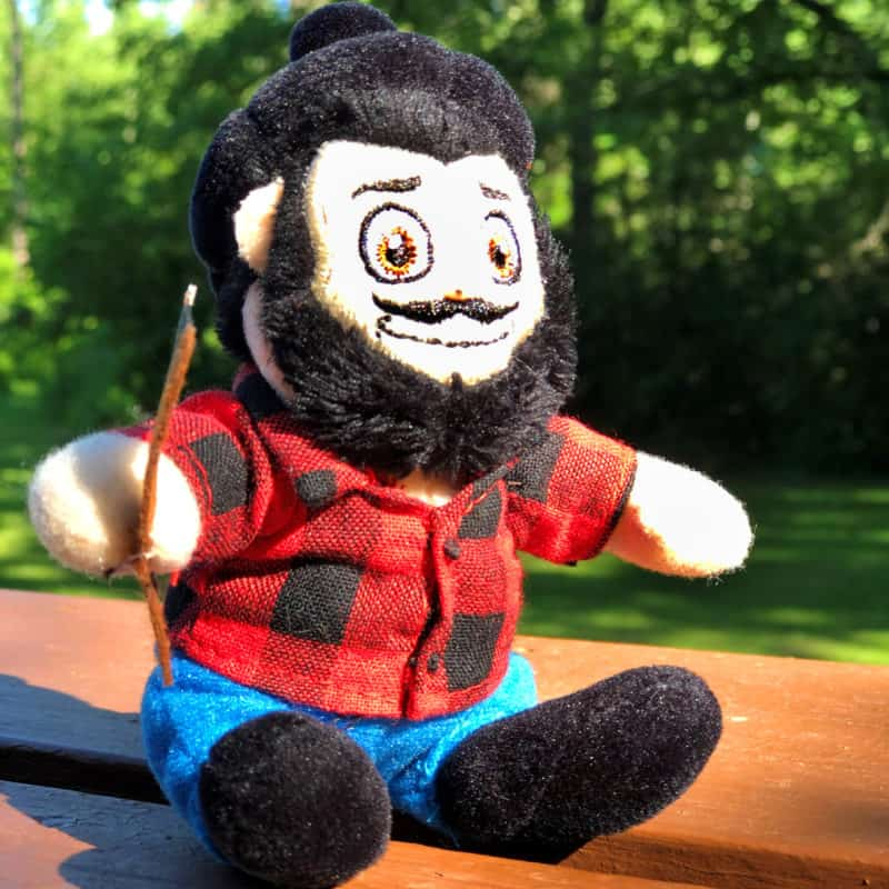 Small Paul Bunyan Plush