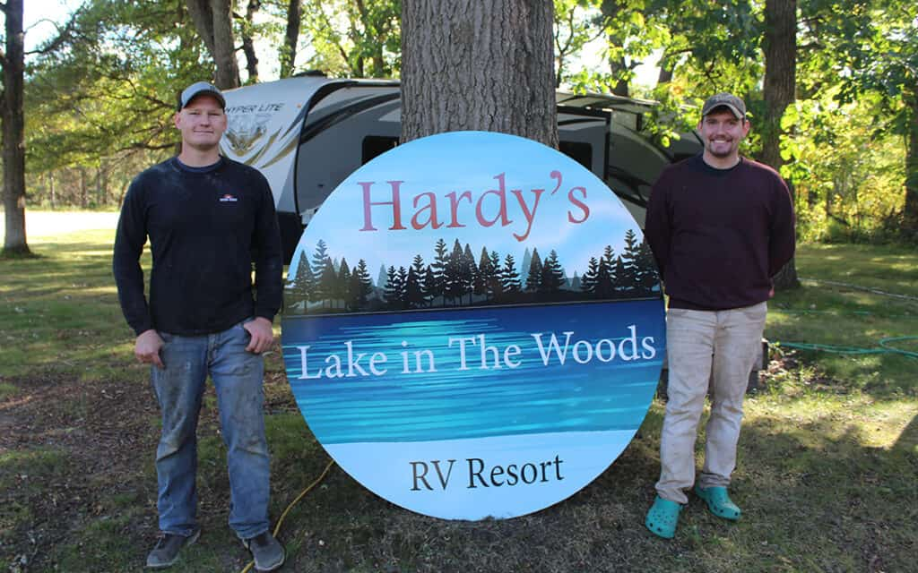 Hardy's Lake in the Woods RV Resort