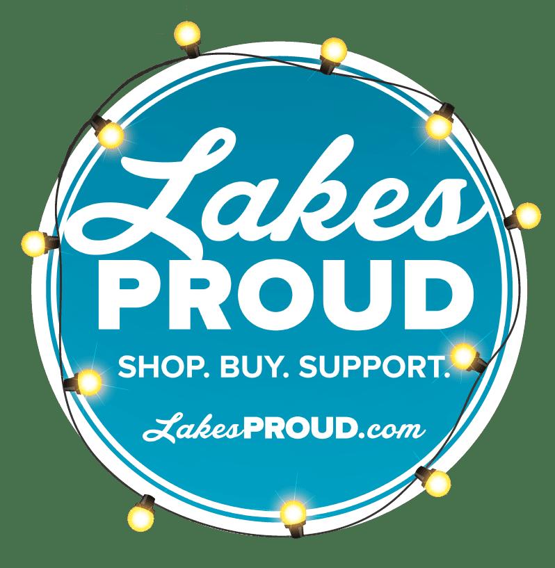 Lakes Proud Holiday Logo